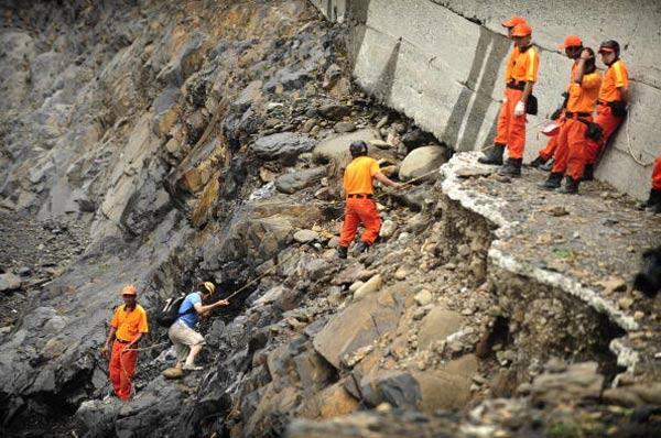 Через тиждень після тайфуну «Моракот». Фото: PETER PARKS / AFP / Getty Images