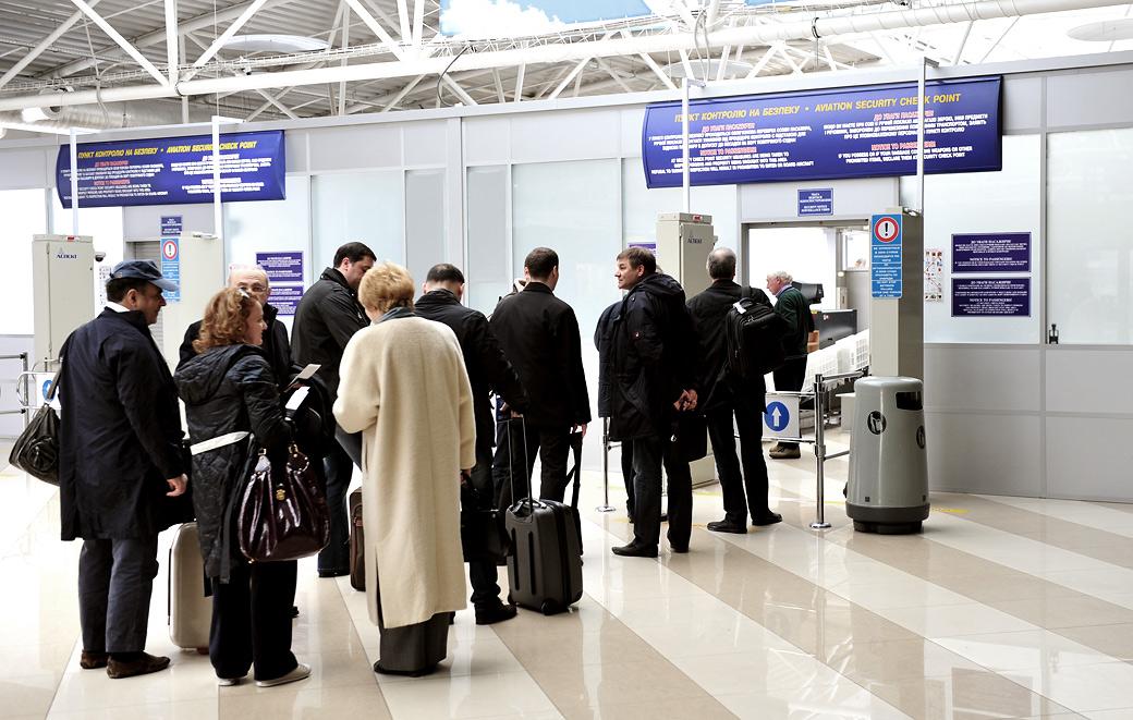 Новый терминал аэропорта в Борисполе.