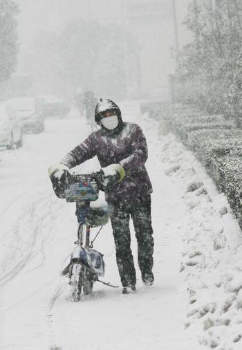 Китай продовжує потерпати від сильної негоди. Фото з epochtimes.com