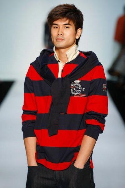 Колекція Paul & Shark сезону осінь/зима 2009 на тижні моди MasterCard Luxury Week в Гонконзі. Фото:Lucas Dawson/Getty Images