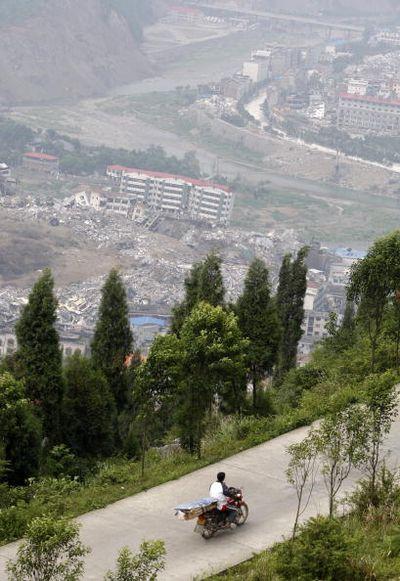 Повіт Бейчуань провінції Сичуань. Фото: TEH ENG KOON/AFP/Getty Images