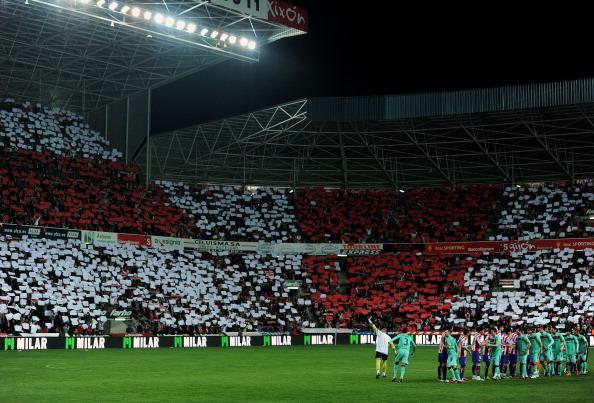 СПОРТИНГ ХИХОН - БАРСЕЛОНА Фото: Getty Images Sport