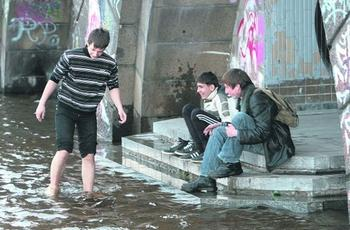 Повінь у Києві. Фото: segodnya.ua