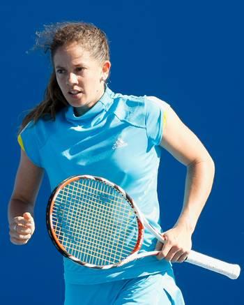 Патті Шнідер (Швейцарія) (Patty Schnyder of Switzerland) під час відкритого чемпіонату Австралії з тенісу. Фото: Quinn Rooney/Getty Images
