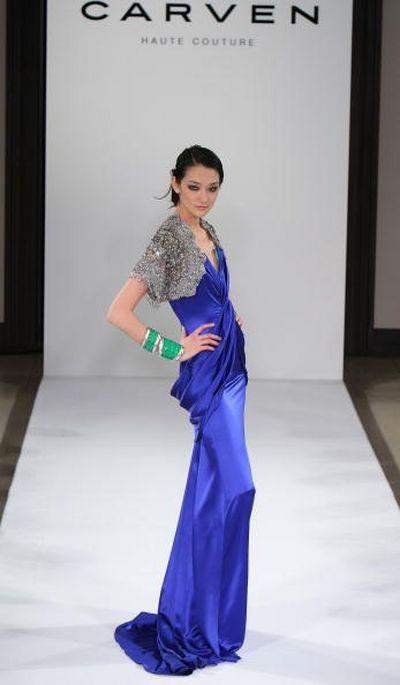 Показ коллекции Carven «Весна-лето 2008» на неделе высокой моды в Токио/фото: Getty Images