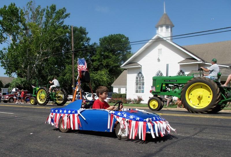 Сентервилль, штат Теннеси, США, 4 июля. Америка празднует 236-ю годовщину Дня независимости. Фото: Jonathan Daniel/Getty Images