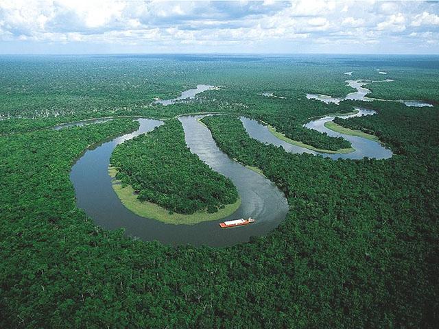 Амазонка — самая длинная река в мире. Фото: Wondnature.ru