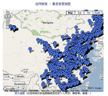 преследование Фалуньгун