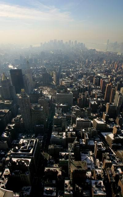 Вигляд Нью-Йорка з висоти пташиного польоту. Фото: Getty Images