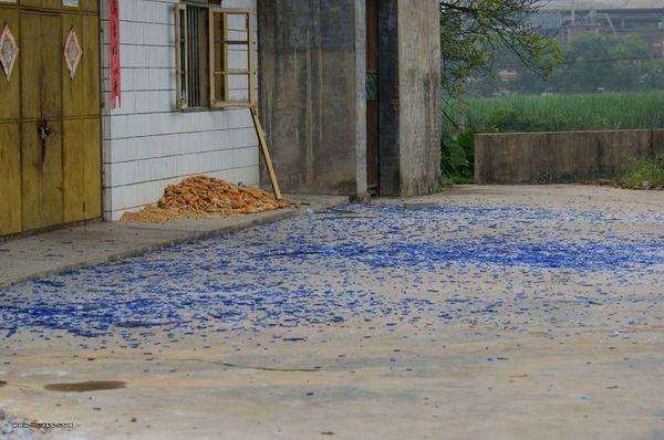 Район химического завода через несколько часов после взрыва. Фото с epochtimes.com