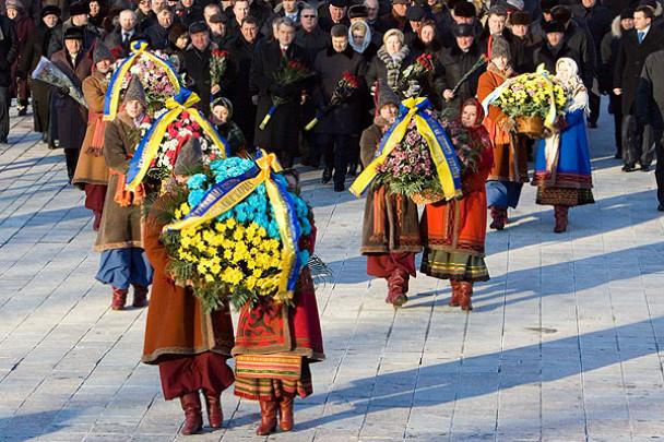 Президент Віктор Ющенко привітав співвітчизників із Днем Соборності України. (Фото: Офіційний сайт Президента України)