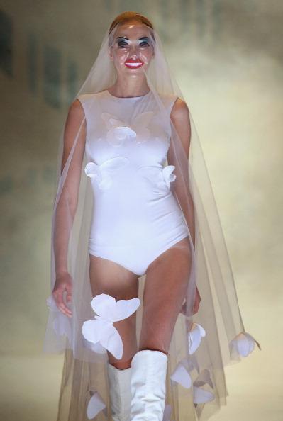 Весільні сукні від Агне Кузмікайте (Agne Kuzmickaite). Фото: PETRAS MALUKAS/AFP/Getty Images