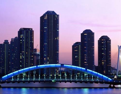 Город в Японии.