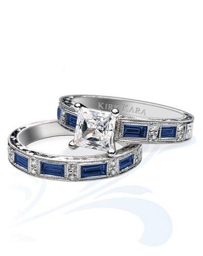 Розкішні весільні кільця Kirk Kara. Фото з efu.com.cn