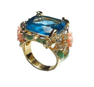 Прикраси з коштовними каменями з аквамарина. Фото з efu.com.cn