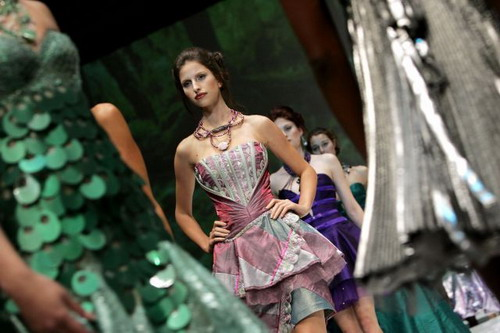 Тиждень моди у Кейптауні, ПАР. Фото: GIANLUIGI GUERCIA/ AFP