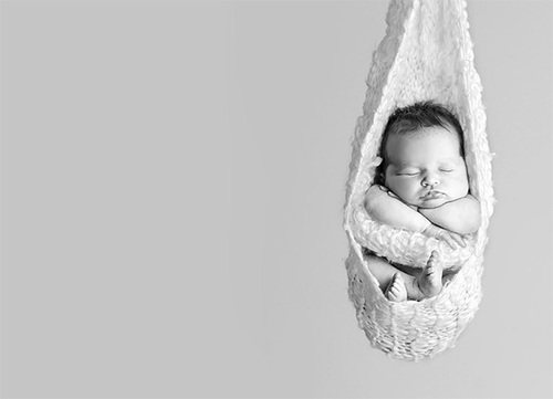 Вочеловечившаяся душа: новорожденные младенцы. Фото с secretchina.com