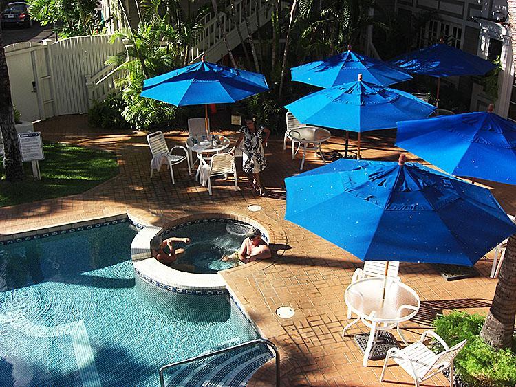 Отдых по-королевски: бассейн в гостинице 'Плантейшн Инн' на о. Мауи. Фотообзор. Фото: Шила О`Коннор/The Epoch Times