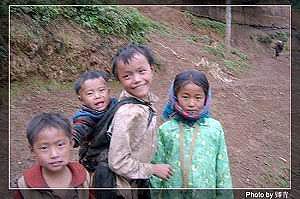 Дети из горной деревни. Фото: Цин Цин/Великая Эпоха