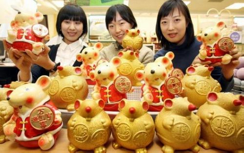 По китайскому лунному календарю 2008 г - это год мыши. Фото: AFP
