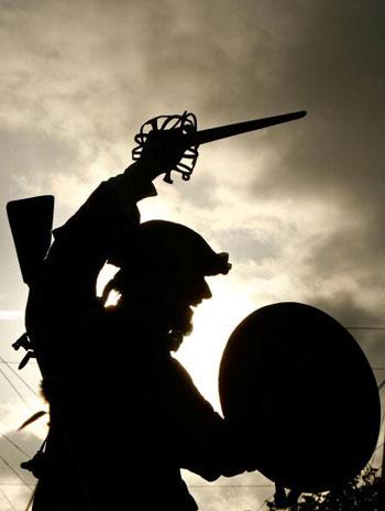 Жители Шотландии отметили годовщину Престонанской битвы. Фото: Jeff J Mitchell/Getty Images