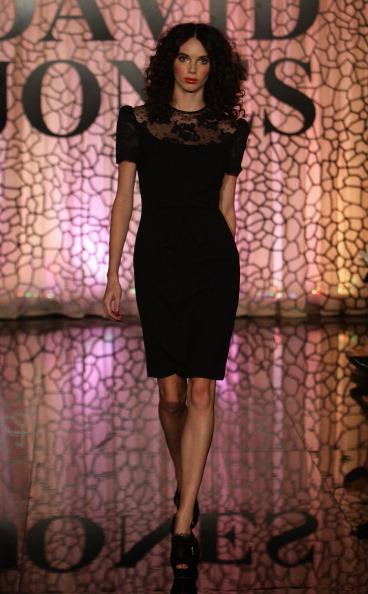 Модне шоу David Jones осінь/зима 2011(2). Фото Lisa Maree Williams/Getty Images