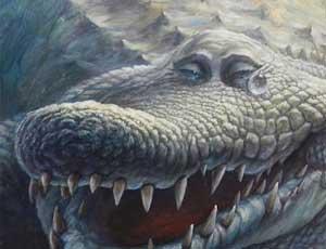 «Крокодиловы слёзы». Автор Денис Лопатин. Фото: nr2.ru