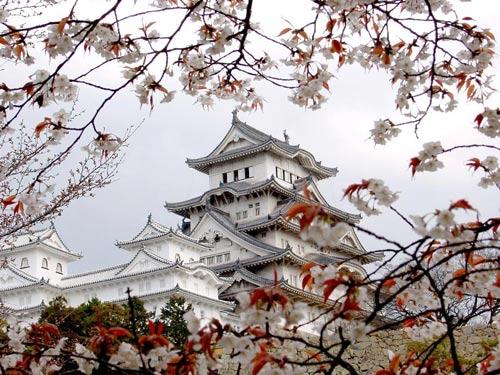 Замок Химеиджи (himeidji), Япония.