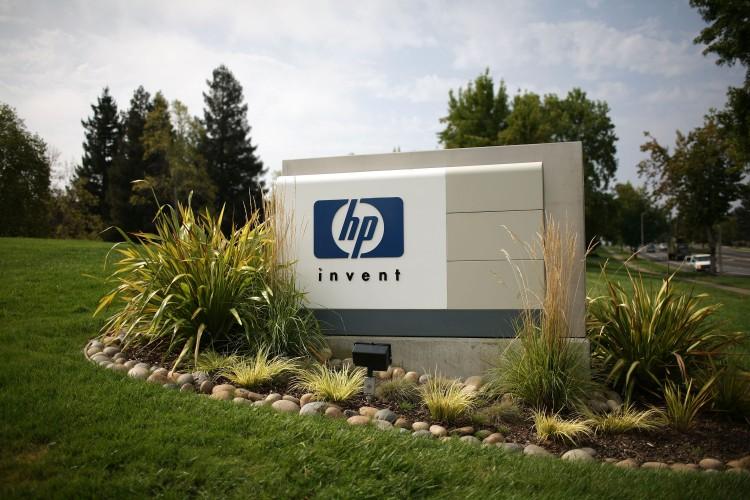 Логотип компанії Hewlett-Packard