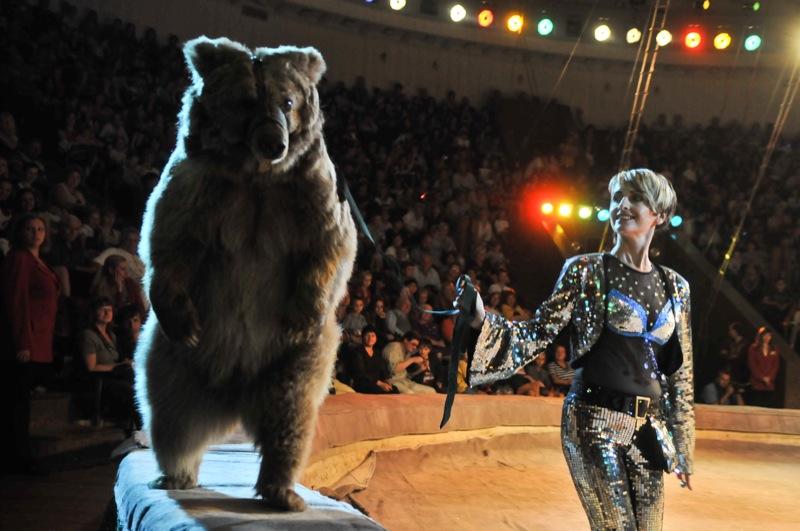 Национальный цирк Украины представил новую программу «Просто супер» 22 сентября 2011 года. Фото: Владимир Бородин/The Epoch Times Украина