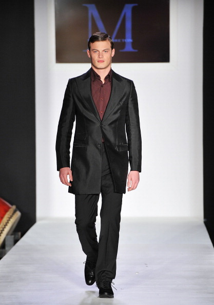 Американський дизайнер Malan Breton на Mercedes-Benz Fashion Week. Фото: Slaven Vlasic/Getty Images