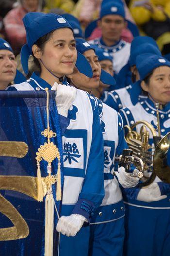 На праздничном мероприятии также выступил «Небесный оркестр». Фото: Ван Женцзюнь/Великая Эпоха