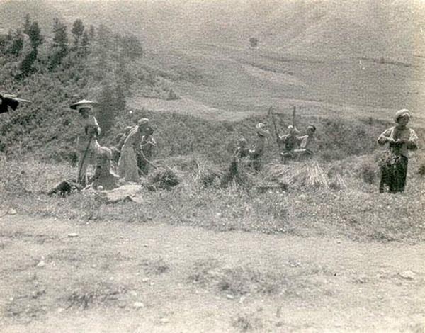 Пейзажи и жизнь людей провинции Сычуань около 100 лет назад. Фото с aboluowang.com
