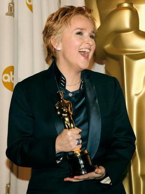 Меліса Етерідж (Melissa Etheridge) удостоєна 'Оскара' за пісню 'Мені треба прокинутися' в картині 'Гірка правда' (An Inconvenient Truth). Фото: Vince Bucci/Getty Images