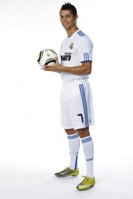 Кріштіану Роналду у футболці Реала. Фото: realmadrid.ru