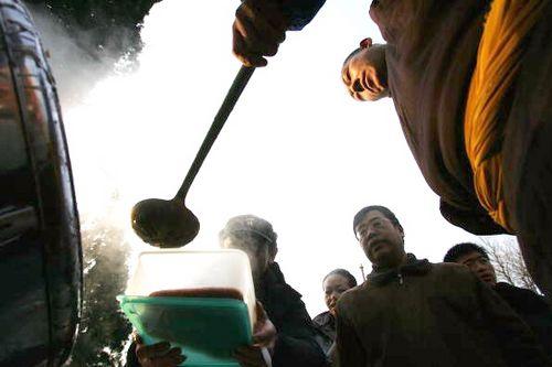 Святкування китайського свята «Лаба». Фото: China Photos/Getty Images