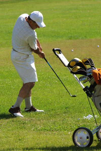 Чемпионат по гольфу в Киевском гольф центре 28 и 29 июля 2008 года. Фото: Владимир Бородин/The Epoch Times
