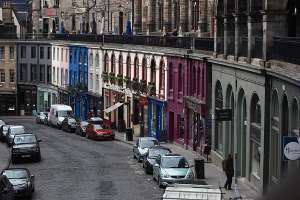 Едибург, Шотландія. Старе місто. Фото: Jeff J Mitchell / Getty Images