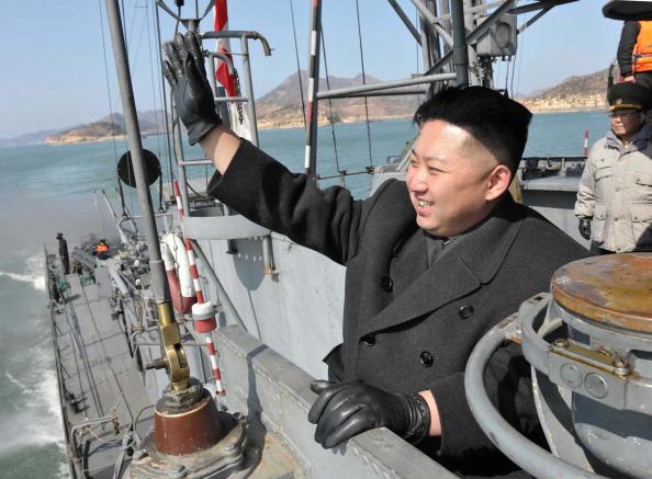 Ким Чен Ын. Фото: KNS/AFP/Getty Images