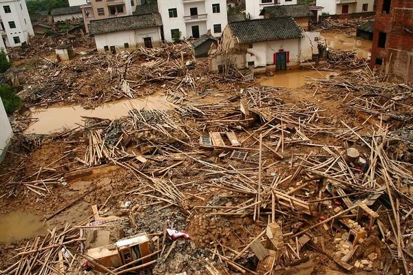 Повені на півдні Китаю. Фото: STR/AFP/Getty Images