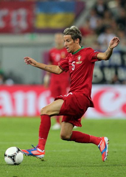 Фабио Куентрао из Португалии во время матча Германии против Португалии 9 июня 2012 года, Львов. Фото: Joern Pollex/Getty Images