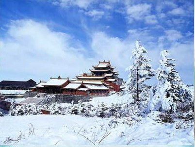 Храм Хуацзан (Цзіньдін). Гори Емей. Фото з secretchina.com