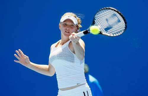 Дітті Джулія (США) (Julie Ditty of the United States of America) під час відкритого чемпіонату Австралії з тенісу. Фото: Quinn Rooney/Getty Images