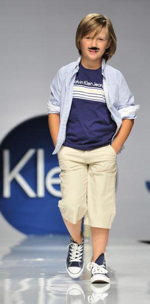 Колекція дитячого одягу сезону весна/літо 2010 фірми Pitti Immagine Bimboк. Фото: TORSTEN SILZ/AFP/Getty Images