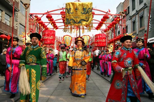 Свято ліхтарів Юаньсяо. Пекін. Китайська Народна Республіка. Фото: AFP