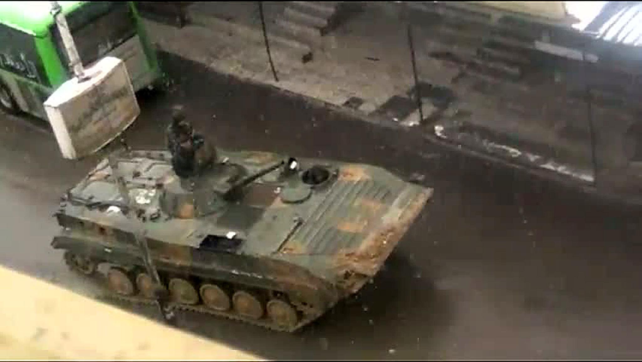 У столиці Сирії спалахнули запеклі бої
