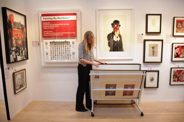 16-ая художественная выставка-ярмарка'Челси' Art Fair 2011. Фото: Dan Kitwood/Getty Images