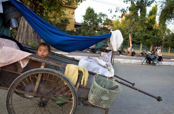 Камбоджа: примусові виселення тривають. Фото: Paula Bronstein / Getty Images