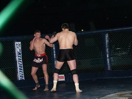 Супербій Кубку СНД по панкратіону 2002 року. Фото: Сергій Шубкін