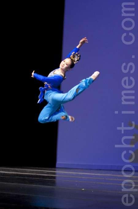 В Нью-Йорке стартует первый тур Международного конкурса классического китайского танца 2009. Фото: The Epoch Times